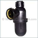 Anti-Siphon Bottle Traps